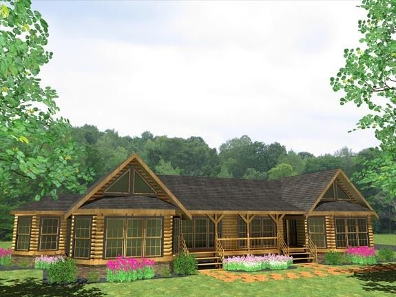 17 Best images about Log home plans on Pinterest House plans