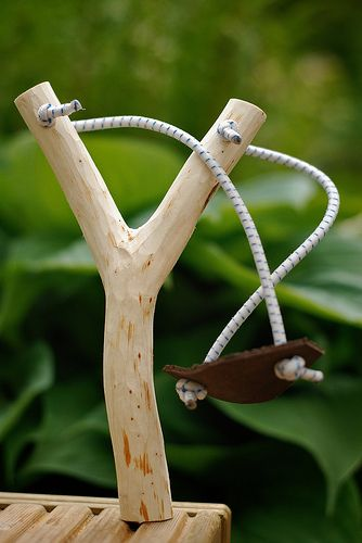 Gotta make my boy one of these. Maple limbs or saplings works pretty well. Easily found around these parts.
