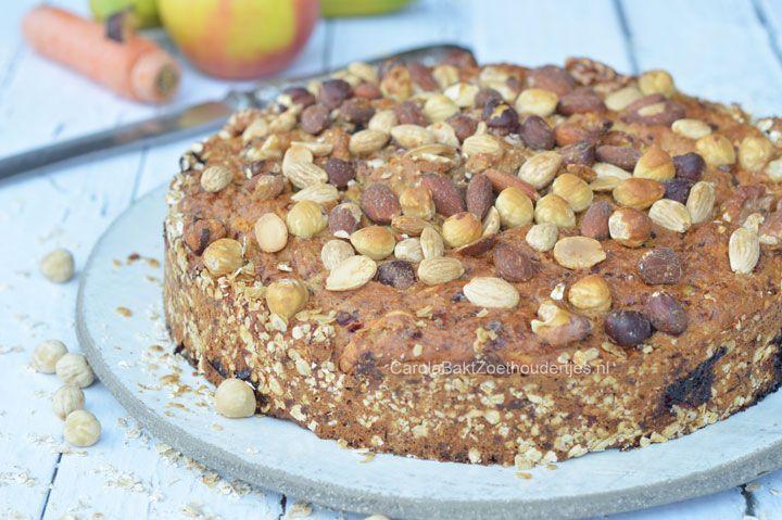 Stel je eens voor; je neemt een stuk taart als ontbijt. Hmm, lekker toch en met dit recept kun je zonder schuldgevoel een lekkere punt nemen!