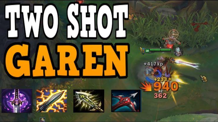 Two shot Q max Garen!!! ( Insane burst damage ) https://www.youtube.com/watch?v=VSz8GRJbMEk&feature=youtu.be #games #LeagueOfLegends #esports #lol #riot #Worlds #gaming