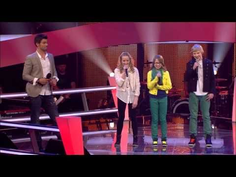 Kelly Clarkson - Because Of You (Luisa, Laura, Laurin) | The Voice Kids ...