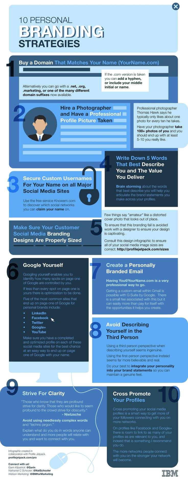 Recently Nat and I Collaborated With IBM to Create an Infographic With 10 Personal Branding Strategies. CLICK and Discover These Personal Branding Tips NOW.