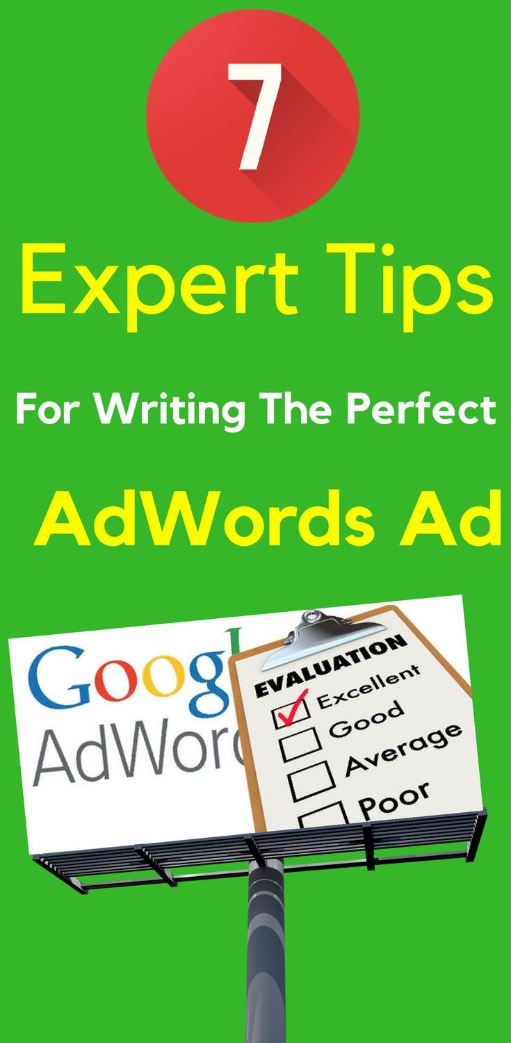 7 Expert Tips For Writing The Perfect AdWords Ad.   Google AdWords is just a superb way to generate quality leads for Business to Business - as long as you set it up correctly to begin with! Learn more...  7 #Expert #Tips For #Writing The Perfect #AdWords #Ad