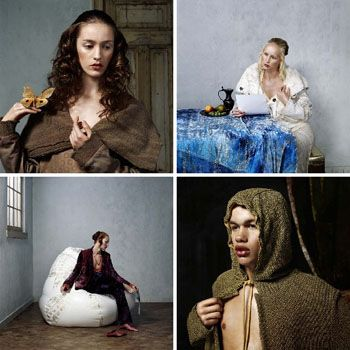 Erwin Olaf: The Golden Age - people of the labyrinth
