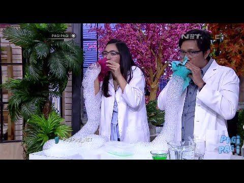 Fun Science - Eksperimen Sains Unik Menggunakan Air Sabun dan Bola Pingpong