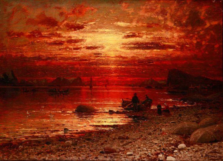 Adelsteen Normann: Sunset