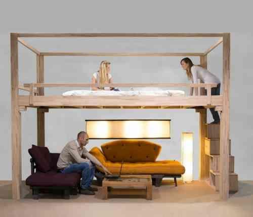 1000 ideas about lit gain de place on pinterest gain de. Black Bedroom Furniture Sets. Home Design Ideas