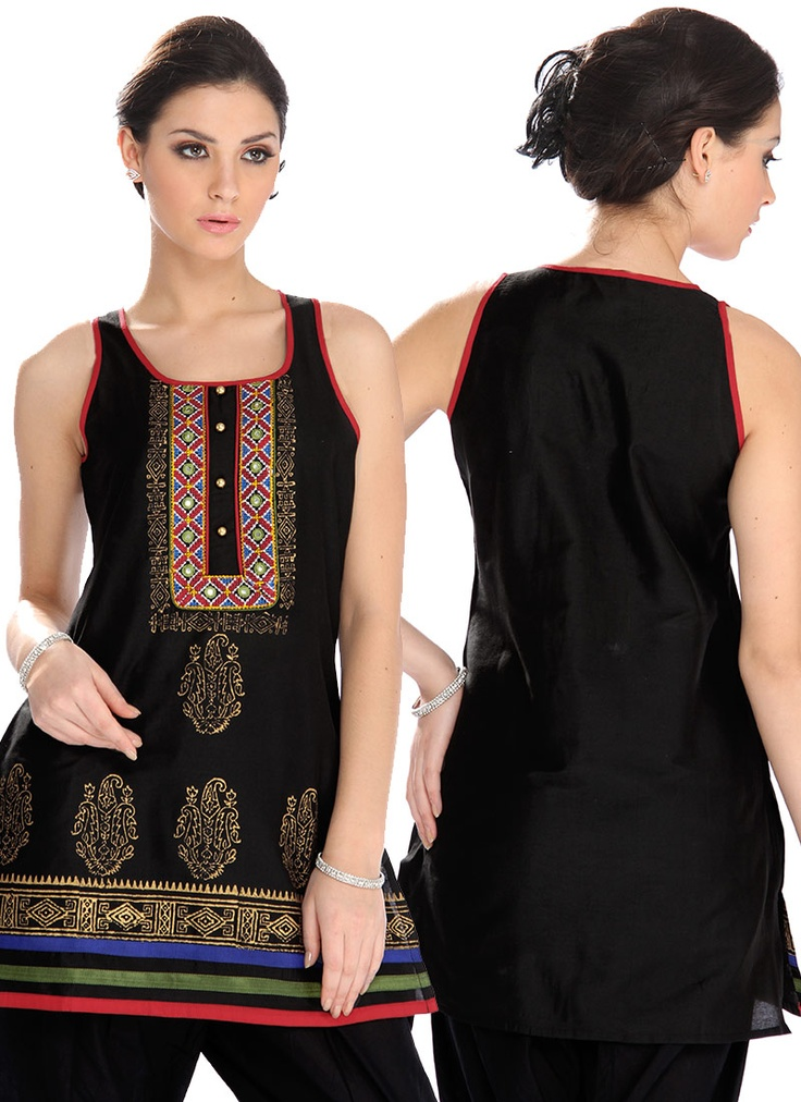 #Cbazaar Global Desi #Mesmerizing Black #Kurti