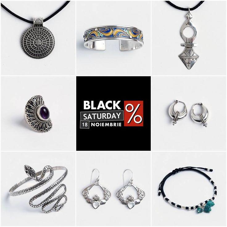 ‼️Am prelungit reducerile cu încă o zi‼️  Comandă acum BIJUTERII cu REDUCERE de până la 40% 😍😍😍 #metaphora #blackfriday #silverjewelry