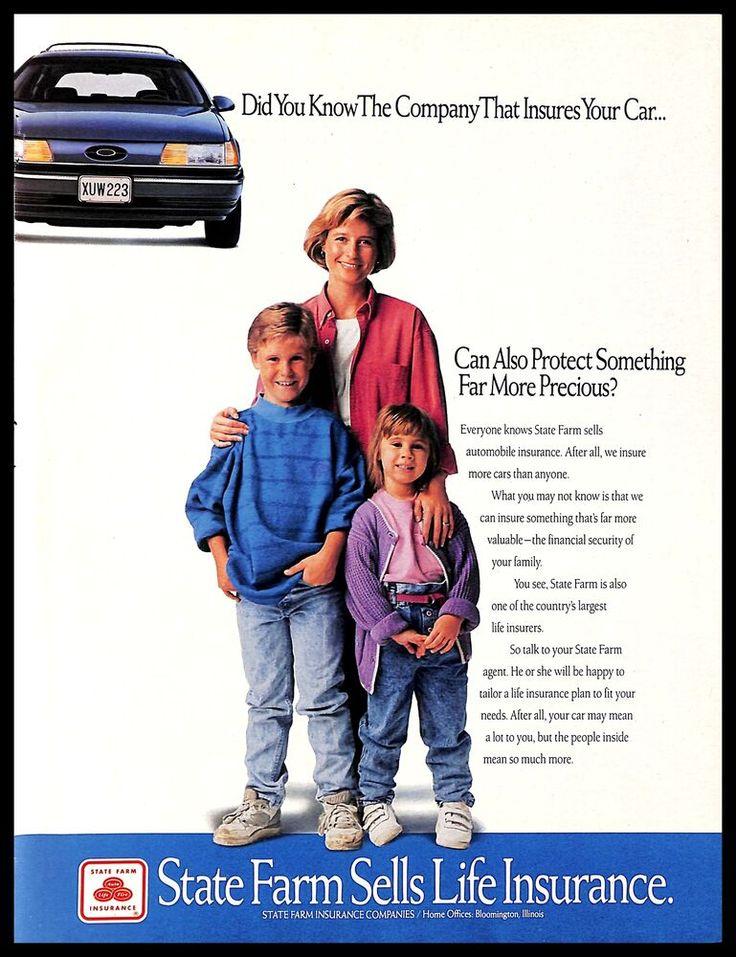 1991 state farm insurance company life insurance family
