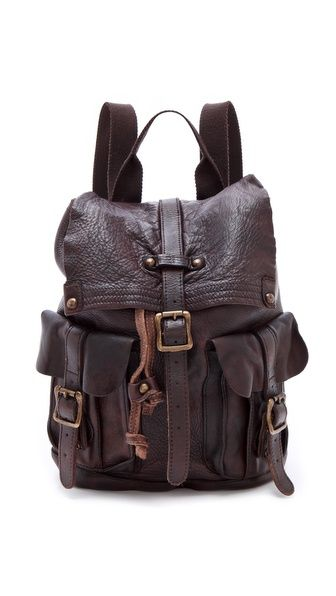 ONE by Bed Stu Shiloh Leather Backpack. Not sure if it's the look I luv or just thinking how much I can put in it.