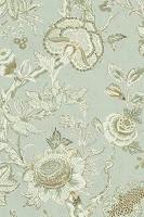 flower wallpaper seaglass T4149