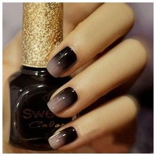 smokey: Nail Polish, Style, Nailart, Makeup, Nail Design, Ombre Nails, Beauty, Hair, Nail Art