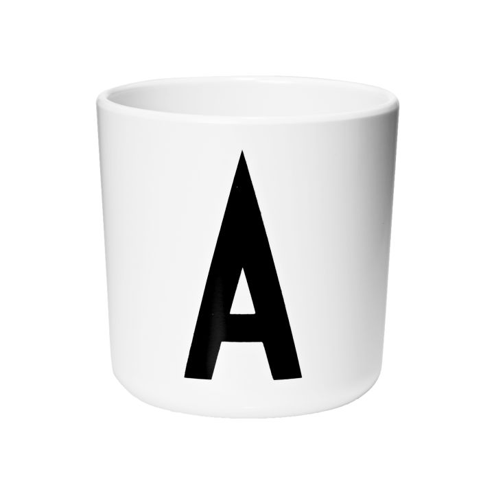 Design Letters Arne Jacobsen Alphabet Melamine Cup
