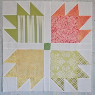 Lucky Bear Paw quilt block