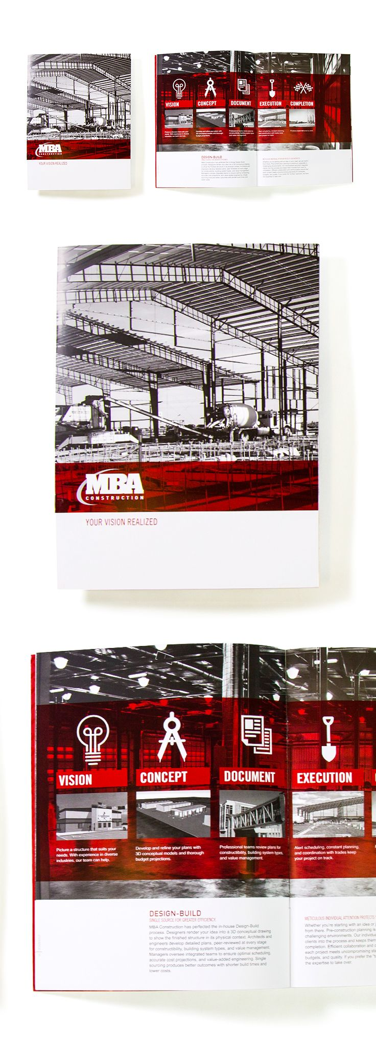 MBA Corporate Brochure #epicmarketing #marketing #corporatebrochure #brochure #print