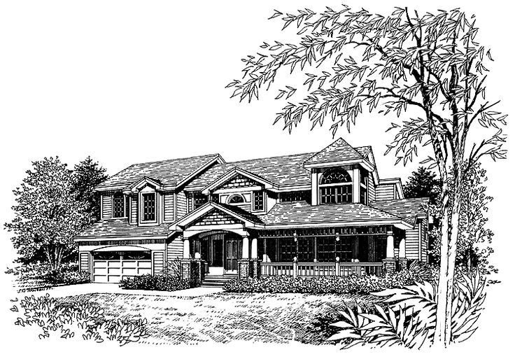 Eplans farmhouse house plan country style plan 2520 for Www eplans com house plans