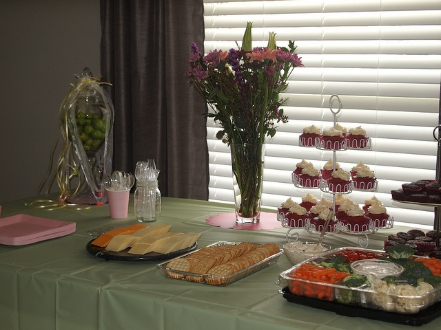 Set-up for my sister's baby shower