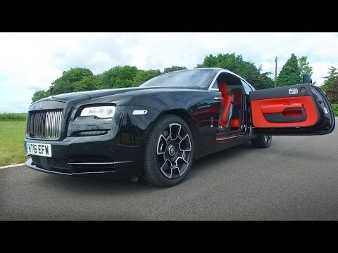 NEW Rolls Royce Wraith Black Badge