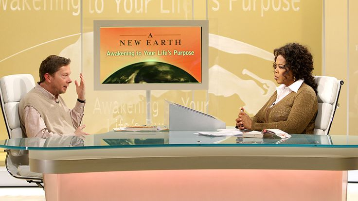 How Eckhart Tolle Helped Oprah Awaken to Nature's Beauty