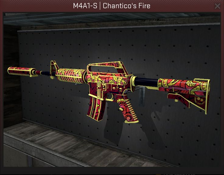 M4A1-S | Chantico's Fire (Field-Tested) CSGO Giveaway ...