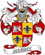 De Mendez Spanish Coat Of Arms www.4crests.com #coatofarms #familycrest #familycrests #coatsofarms #heraldry #family #genealogy #familyreunion #names #history #medieval #codeofarms #familyshield #shield #crest #clan #badge #tattoo #crests #reunion #surname #genealogy #spain #spanish #shield #code #coat #of #arms