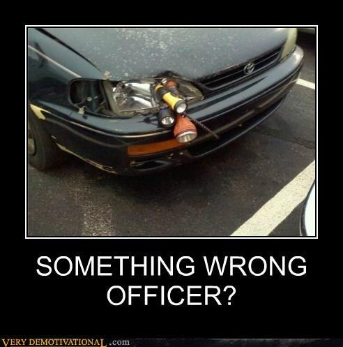 LOLWater Bottle, Cops, Funny Pictures, Golf Carts, Funny Stuff, Funny Quotes, Cars Headlights, So Funny, Ghetto Cars