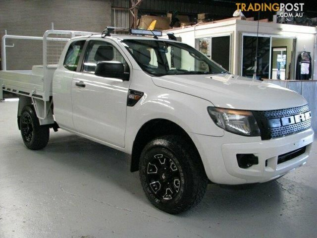 2011 Ford Ranger XL Super Cab 4x2 Hi-Rider PX Cab Chassis