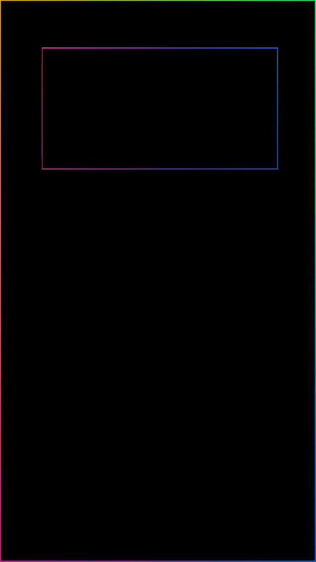I See These Everywhere But None With A Border For The Clock So I Quickly Made One I Imgur Com S Iphone Wallpaper Clock Dark Wallpaper Iphone Apple Wallpaper Iphone lock screen clock wallpaper it