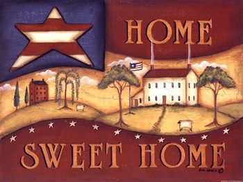 Home Sweet Home Prints at Total Bedroom Art