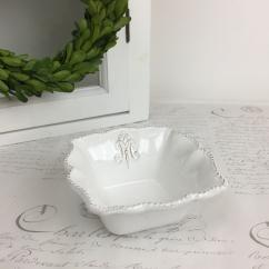 Maison Skål liten - vit