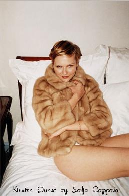 bedtime with Kirsten Dunst