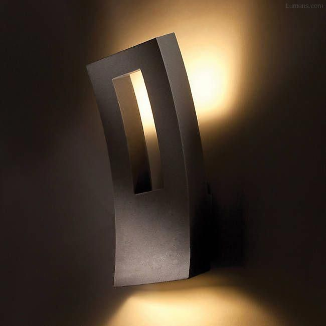 Go Green With Solar Garden Lights Modern Wall Sconces Led Outdoor Wall Lights