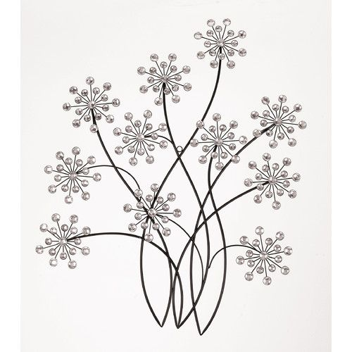 Metal Flower Wall Art 31 best metal wall art images on pinterest | metal walls, metal
