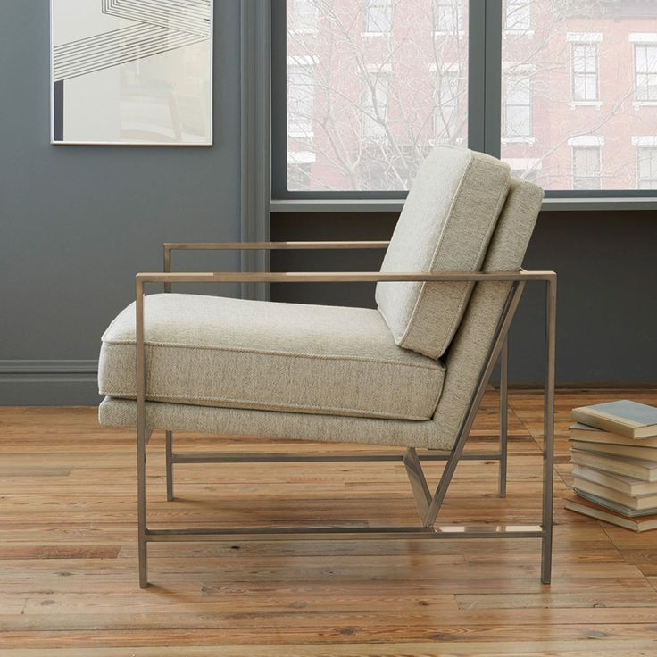 Steel Pipe Frame Armchair Living Room