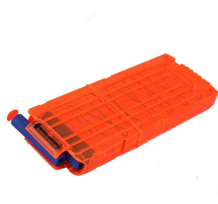 HOT Bullet Magazine Soft Bullet Clips For Nerf Gun Toy 12 Soft Bullets Cartridge Dart Magazine Ammo Clips NERF N-STRIKE ELITE