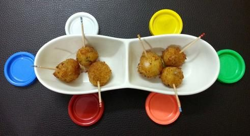 POTATO LOLLIPOP / VEG LOLLIPOP - RECIPE