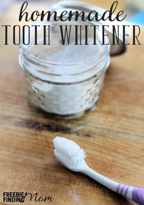 homemade tooth whitener home hacks beauty recipe teeth whitening diy diy beauty. Black Bedroom Furniture Sets. Home Design Ideas