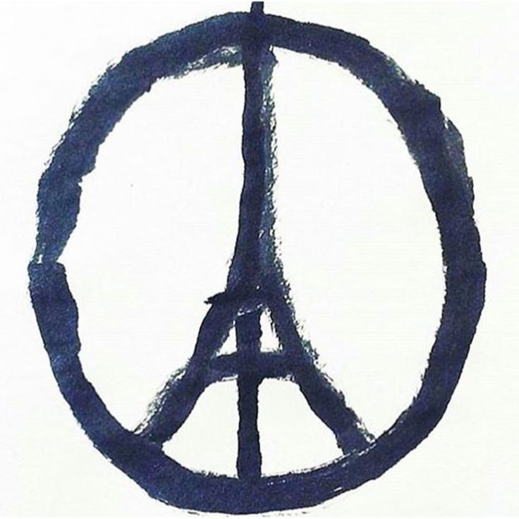 PFP ~ Praying For Paris. We should be seeing this everywhere. If we don't there is something wrong with humanity