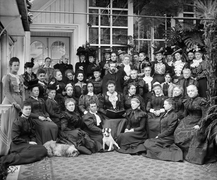 Type of Source: Photograph Date of Origin: 1898 This is a photo of the National Council of Women. Even though this photo is from 1898 the council was still a major part of women suffrage in the 20s. They worked to draw attention to a women's need for Birth Control among other ideas. (Canadian Encyclopedia)
