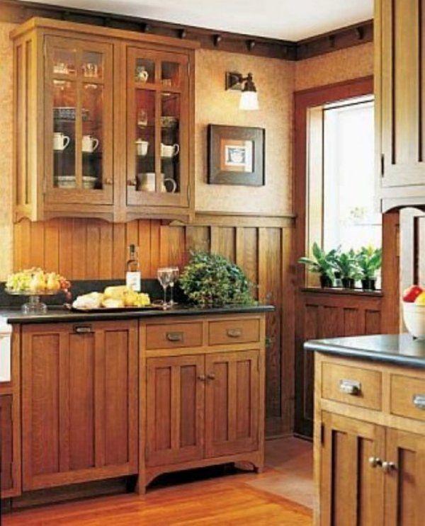 Mission Kitchen Cabinets · Mission Style KitchensCraftsman ...