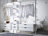 Ideas for the closet organizer. Bedroom Furniture - Beds, Mattresses & Inspiration - IKEA