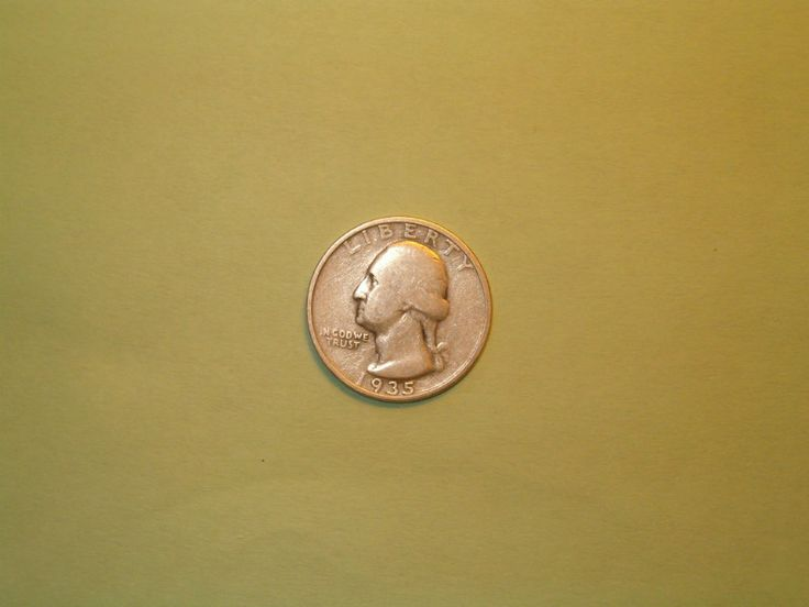 1935 Washington Quarter Good