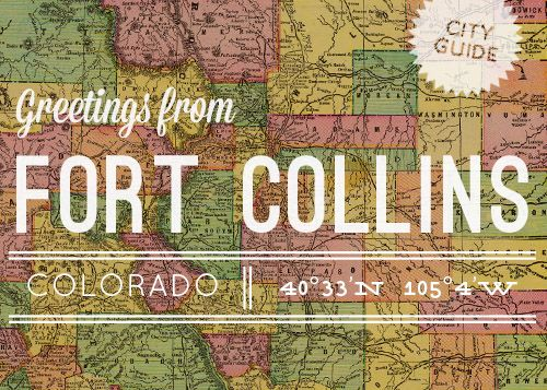 Do come and visit! Design Sponge has shared many of our favorite places. :) Fort Collins, Colorado City Guide