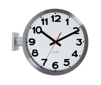 Present Time - Wall Clock Numbers Double Sided