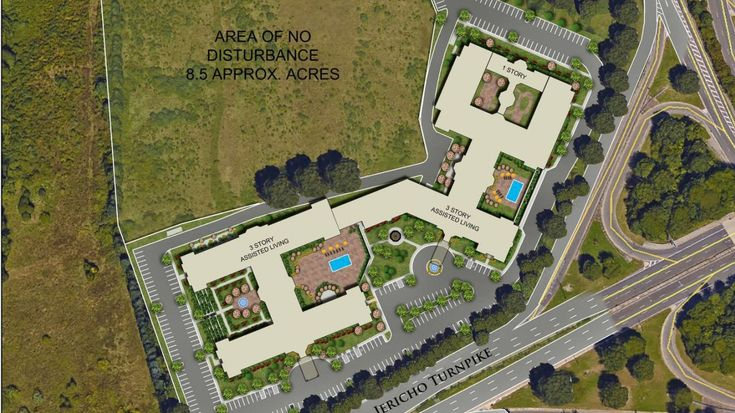 The Nassau Industrial Development Agency endorsed the 280-unit senior citizen complex to be built in Jericho with a property tax deal that lasts 17 years.