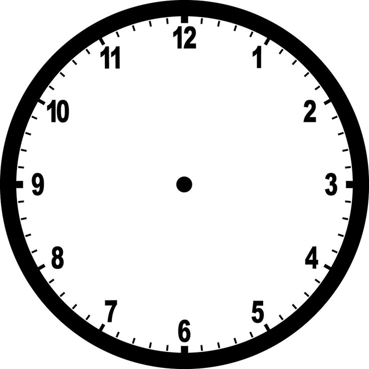 free clock faces blank