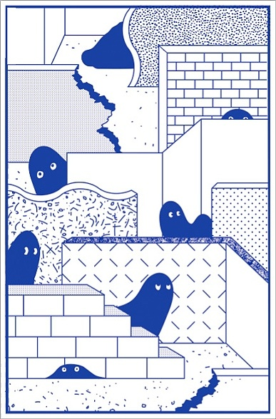 Shy Ghosts by Meatzza Editions.