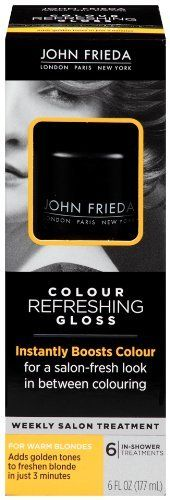 John Frieda Precision Foam Hair Color Glosser - Warm Blonde 6 oz. (Pack of 3). Quality you can depend on from John Frieda. Value Pack of 3.
