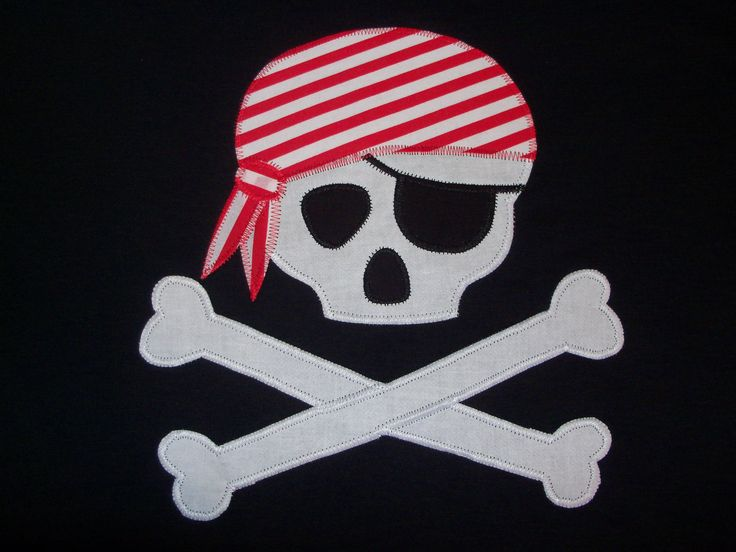 skull and crossbones template